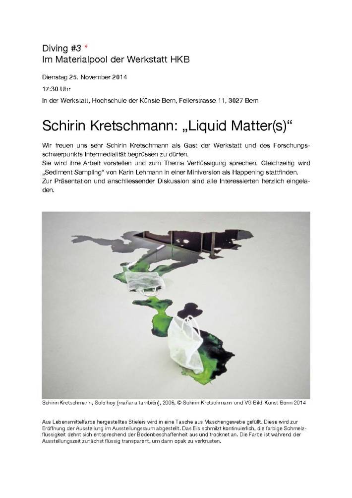 Liquid Matters