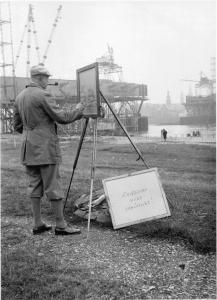 Erich Grisar, Die Mühlheimer Brücke im Bild, 1928-1933